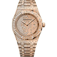 Audemars Piguet Royal Oak Quartz 33mm 67654or.zz.1264or.01 Watch ($58,735) ❤ liked on Polyvore featuring jewelry, watches, accessories, bracelets, інше, hexagon jewelry, polish jewelry, quartz watches, bezel jewelry and quartz wrist watch