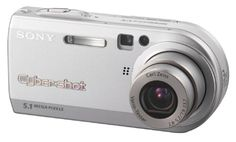 Sony Cybershot DSCP100 5.1MP Digital Camera with 3x Optical Zoom