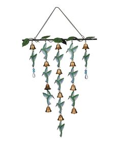 Look at this Hummingbird Wind Chime on #zulily today!