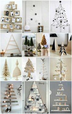 KREATYWNE CHOINKI! Mnóstwo pomysłów na świąteczne dekoracje drzewka!