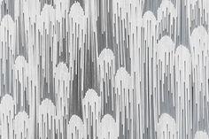 Wall sculptures at Pace Gallery by Tara Donovan » Retail Design Blog