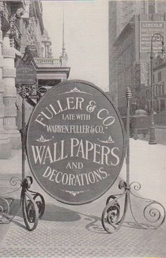 Fuller & Co. Wallpapers - Daily Heller