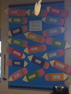 Beginning of the year bulletin board!