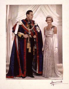 Louis Mountbatten, Earl Mountbatten of Burma; Edwina Cynthia Annette (née Ashley), Countess Mountbatten of Burma - National Portrait Gallery Princess Victoria, Queen Victoria, Lady Diana, Louis Mountbatten, Eugenie Of York, Prinz William, Chaumet, Isabel Ii, English Royalty
