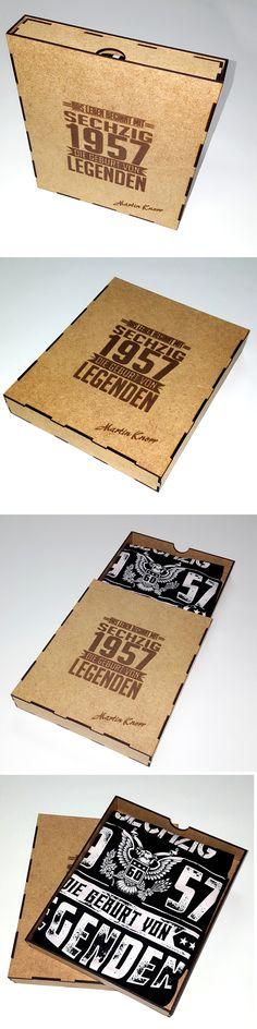 Geschenkbox aus MDF oder Sperrholz. Individuelle Größe und personalisiert Gravur