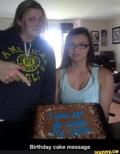 Birthday, cake, message, lol