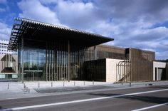 Nagasaki Prefectural Art Museum. Kengo Kuma & Associates - Tokyo - Architects