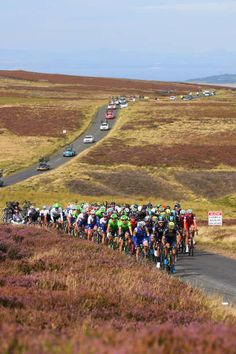 14th Tour of Britain 2017 / Stage 1  Peloton / Landscape / Redstone Rigg / Edinburgh Kelso / OVO Energie / TOB /