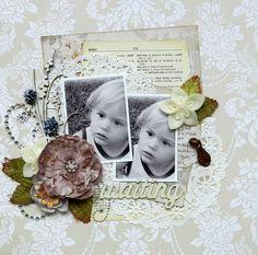 Waiting **C'est Magnifique October Kit** - Scrapbook.com