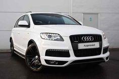 Ibis White Audi Q7