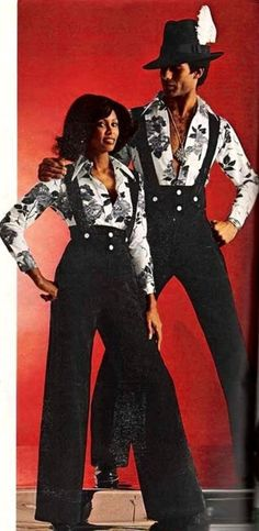 21 Utterly Ridiculous 1970s His and Hers Outfits