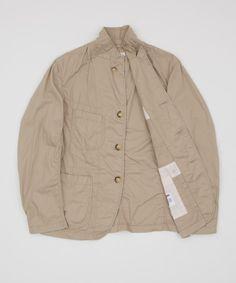 Engineered Garments Bedford Jacket - Khaki by Engineered Garments @Luvocracy |