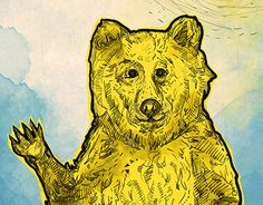 "Check out new work on my @Behance portfolio: ""Original Bear Illustration"" http://be.net/gallery/36857581/Original-Bear-Illustration"