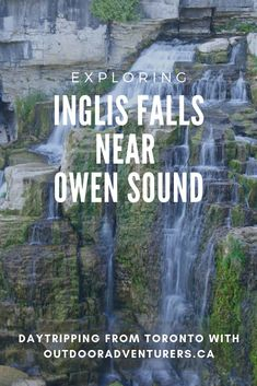 One of the most amazing waterfalls in Ontario, Inglis Falls is a day trip away from Toronto. #InglisFalls #Ontario #Toronto #travelideas #travel #daytrip
