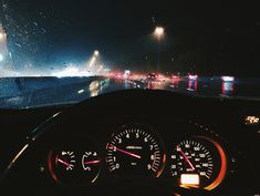 car, night, and drive image