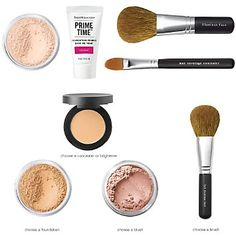 Bare essentials makeup - this is my favourite makeup by far. It goes on easy, looks natural and feels like you're not wearing anything.