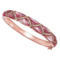 Kabana Jewelry Buy Mother of Pearl Bracelets Pink and Black