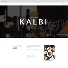 KALBI is a clean & elegant WordPress theme for cafes, bars, bistros, bakery, pubs, cafeteria, coffee shop pizzerias or other restaurant related businesses, this is the theme for you. Seting up and working with KALBI is over easy with 100% Page Builder & Theme Options.