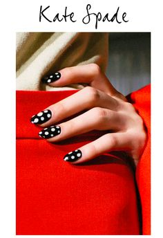 fall nails by Kate Spade | NETROBE