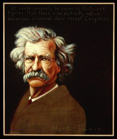 Religion consists in a set of things which the average man thinks he believes and wishes he was certain of.  ~ Mark Twain