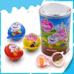 [Hot Item] Chocolate Egg with Biscuit Egg Storage, Plastic Shelves, Chocolate Packaging, Biscuits, Eggs, China, Candy, 3d, How To Make