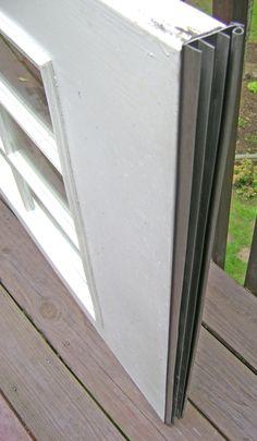 New Door Bottom Weatherstrip Installed