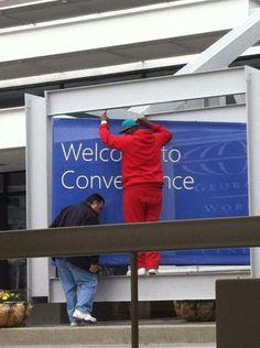Setting up!   #CONV14 #IVCONV14