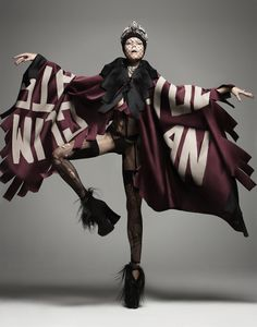 Martha Streck by Manolo Campion for V Magazine