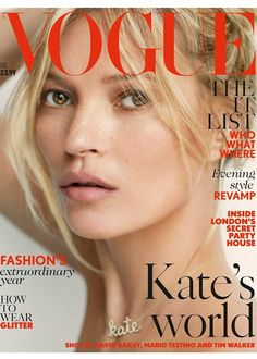 Kate Moss covers British Vogue December 2014 Check out her style file: http://www.vogue.co.uk/spy/celebrity-photos/2011/05/19/style-file—-kate-moss