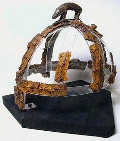 Benty Grange helmet, Anglo-Saxon. England.