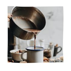 5-Elemente-Kakao - TCM French Press, Coffee Maker, Anna, Kitchen Appliances, Cacao Powder, Healthy Eating Facts, Coffee, Recipes, Coffee Maker Machine
