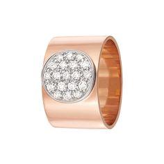 """""""Anthea"""" 18K Rose Gold Diamond Ring - dinh van"""