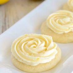 Soft Lemon Sugar Cookies   Lil' Luna