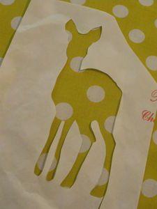 Technique du papier de boucher pour peinture tissu