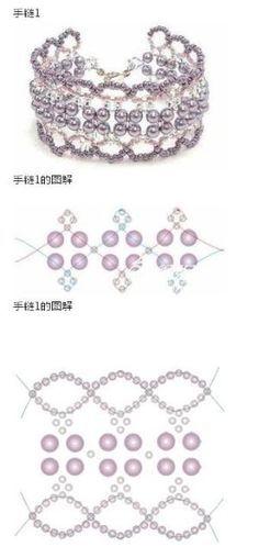 Free beaded bracelet tutorial by sheila chapman