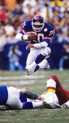 Joe Morris New York Giants running back.