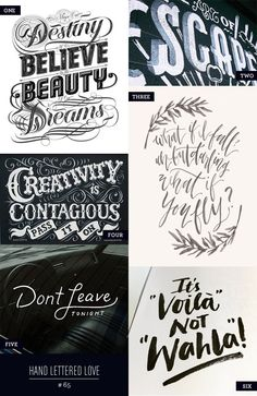 Hand Lettered Love #65