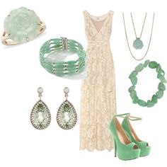 rehearsal dinner outfit - love the lace + jade