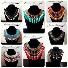 necklaces collage collares ♥