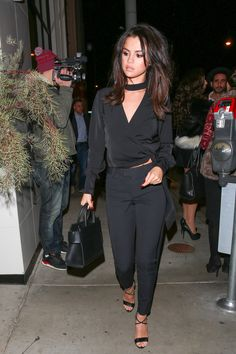December 3: Selena arriving at Catch LA Restaurant in West Hollywood, California