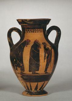 Attic amphora - 500 BC.  © Foto: Antikensammlung der Staatlichen Museen zu Berlin - Preußischer Kulturbesitz