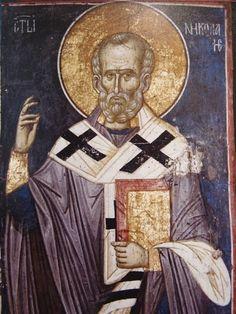 View album on Yandex. Fresco, Orthodox Icons, Saint Nicholas, Religious Icons, Byzantine, Views Album, Saints, Projects To Try, Statue