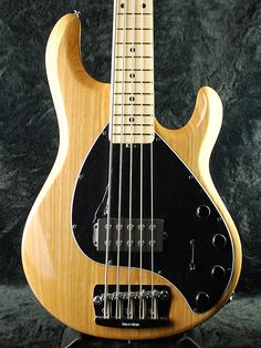 MusicMan Stingray 5 Natural Gloth/Maple