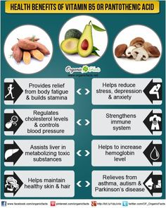 benefits of vitaminB5