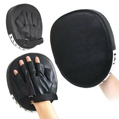 MMA Martial Arts Yosoo Health Gear Punch Mitts Karate Muay Thai Boxing Pads Focus Mitts Pu Leather Punching Target Gloves for Focus Training of Kickboxing