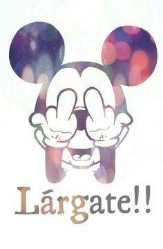 Wallpaper Mickey Mouse Largate!