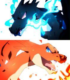 mega charizard X y Y Charmander Charmeleon Charizard, Pokemon Eevee Evolutions, Mega Pokemon, Gold Pokemon, Pokemon Charizard, Pokemon Fan Art, Pikachu, Equipe Pokemon, Cool Pokemon Wallpapers