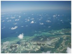 Sky Diving - see Key West from thousands of feet in the air