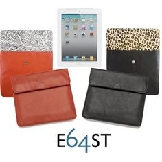 Not one, but two leather and suede #animalprint #Westside #iPad Envelopes to choose from!