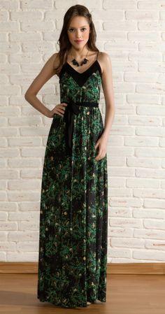 Vestido Longo Desce Daí | Lookbook | Antix Store